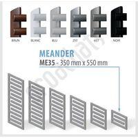 RADIATEUR SALLE DE BAINS sèche- serviettes MEANDER ME-35 350x550
