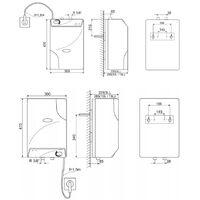 Chauffe-eau- CUMULUS-10L -sans pression - sur évier