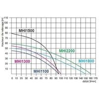 Pompe de jardin MHI1300INOX, 1300W, 230V + ballon 100 L