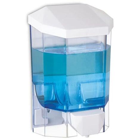 Distributeur gel hydroalcoolique ou de savon pour les mains d'une capacité 500 ml