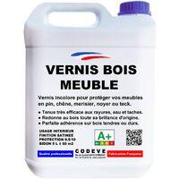 Vernis meuble bois 5 L & 30 L - teinte incolore | 05 - Incolore