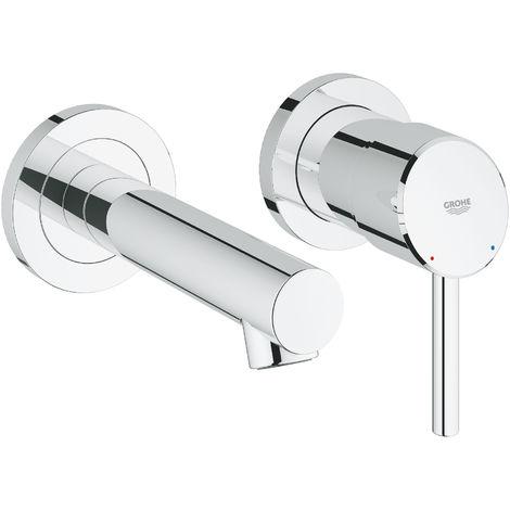 Concetto Miscelatore per lavabo a 2 fori Taglia S