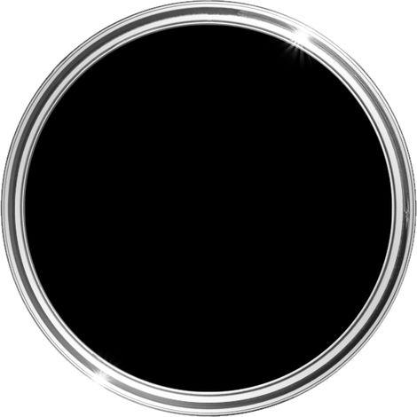 HQC Matt Emulsion Paint 1L (Black) - 1 L