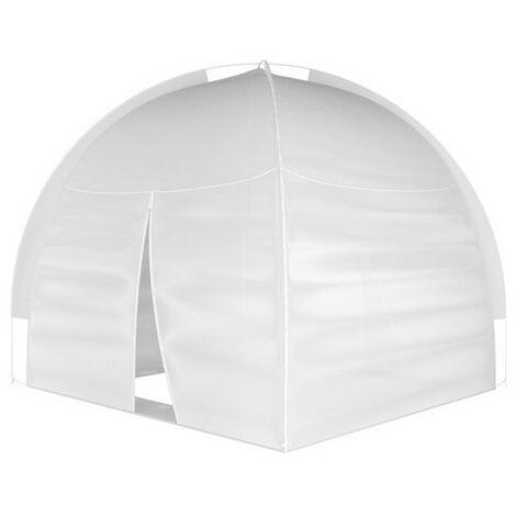 Moustiquaire dôme pop up 240x240 - Blanc