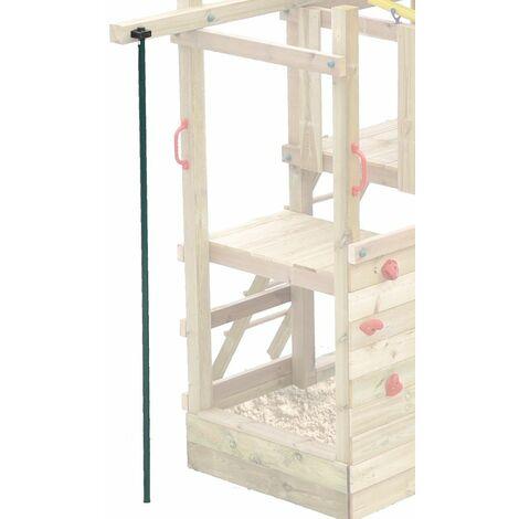 WICKEY Barre de pompier pour enfants pour aire de jeux, portique balançoire & cabane enfant