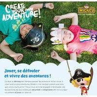 FATMOOSE RetroRider Siège de balançoire pour aire de jeux, portique balançoire & cabane enfant