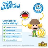 WICKEY Gouvernail bleu pour aire de jeux, portique balançoire & cabane enfant