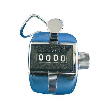 Compteur 4 Chiffres Avec Clip Index - Lot de 1