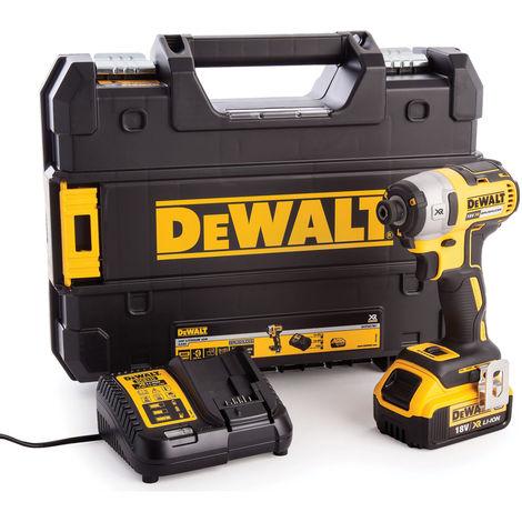 Dewalt DCF887M1 18v Brushless 3 Speed Impact Driver 1 x 4.0Ah Battery:18V