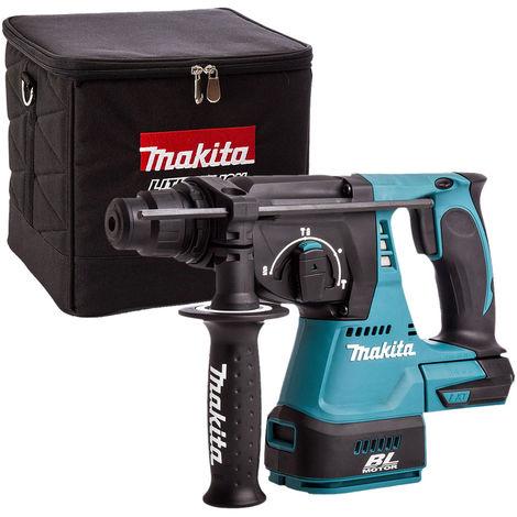 Makita DHR242Z 18V Brushless SDS Hammer Drill + 831373-8 Cube Tool Bag:18V