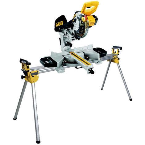 Dewalt DCS365N 18V Cordless XPS 184mm Mitre Saw Body with Universal Leg Stand