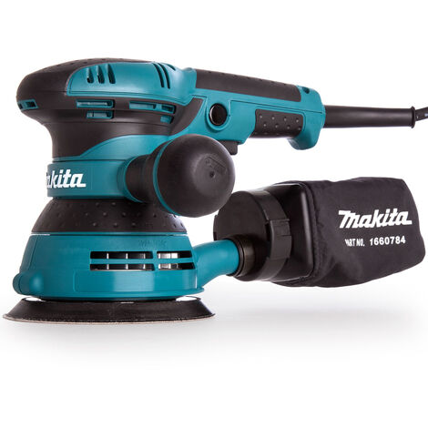 "Makita BO5041 125mm 5"" Random Orbital Variable Speed Sander 240V"