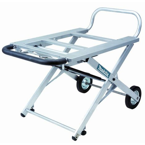 Makita 194093-8 Adjustable Portable Table Saw Stand with Wheels for 2704 / 2704X