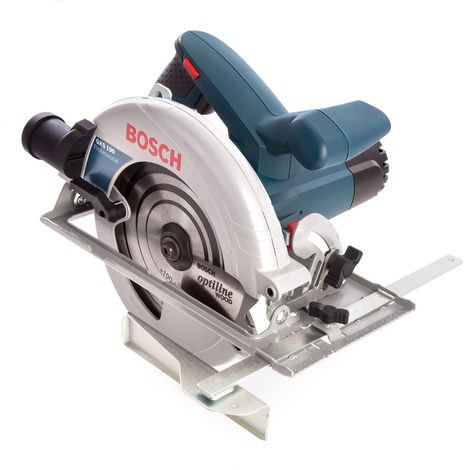 Bosch GKS190 190mm Hand Held Circular Saw & Carry Case 0601623060 110V