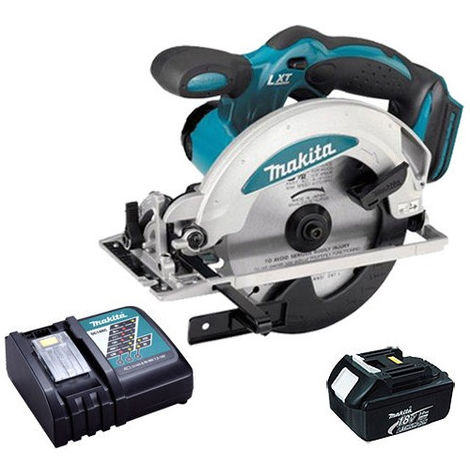 Makita DSS610Z 18V 165mm Circular Saw Body with 1 x 3.0Ah Battery & Charger