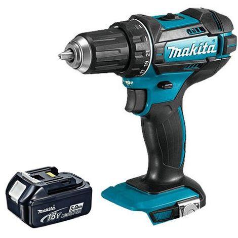 Makita DHP482Z 18V LXT Cordless Combi Drill With 1 x 5.0Ah Battery