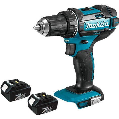 Makita DHP482Z 18v LXT Combi Drill With 2 x 3.0Ah Batteries:18V
