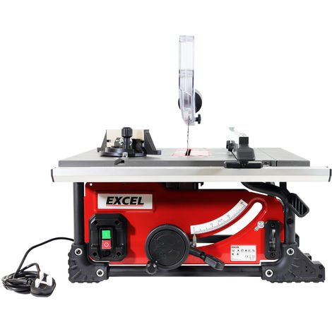 Excel 210mm Portable Table Saw 1500W:240V