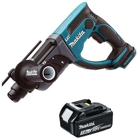 Makita DHR202Z 18V SDS Plus Rotary Hammer Drill With 1 x 3.0Ah Battery