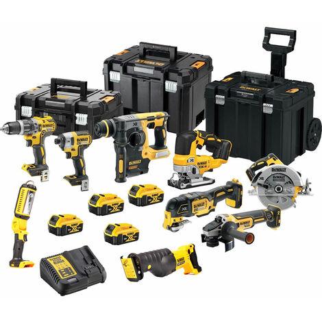 Dewalt DCKT4T79P3T 18V 9 Piece Cordless Kit:18V