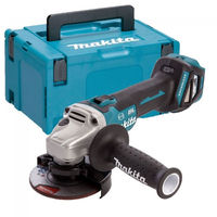 Makita DGA463Z 18V 115mm Brushless Angle Grinder Body With Makpac Case