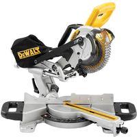 Dewalt DCS365N 18V Cordless 184mm Mitre Saw With 2 x 5.0Ah Batteries & Charger:18V