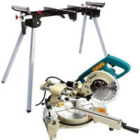 Makita LS0714N 240V 190mm Slide Compound Mitre Saw With Leg Stand