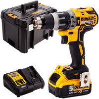 DeWalt DCD796N 18V Brushless Combi Drill with 1 x 5.0Ah Battery & Charger in Case