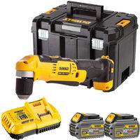 Dewalt DCD740T2 18V Right Angle Drill with 2 x 6.0Ah Batteries & Charger in TSTAK:18V