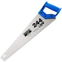 "Bahco 244 20"" Hardpoint Handsaw Medium Cut BAH24420N Pack of 10"
