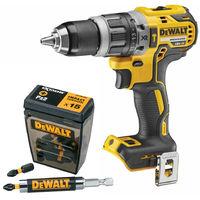 Dewalt DCN796N 18V Li-Ion XR Brushless Combi Drill Body with DT70618T Bit Set