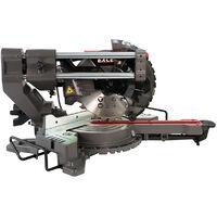 Excel Mitre Saw 216mm Compound Sliding Bevel Laser Cut with Folding Workbench Platform
