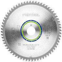 Festool TF64 Mitre Saw Blade 216mm x 2.3mm x 30mm x 64T 500122
