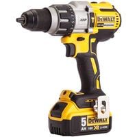 Dewalt DCK276P2 18V Brushless Twin Kit with 2 x 5.0Ah Batteries & Charger in Toughsystem Box