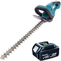 """Makita DUH523Z 18V Hedge Trimmer 52cm/20.5"""" With 1 x 5.0Ah Battery"""