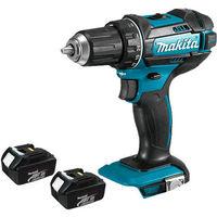 Makita DHP482Z 18v LXT Combi Drill with 2 x 3.0Ah Batteries:18V
