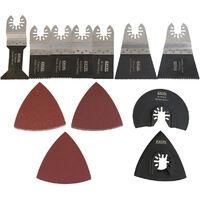 Excel Oscillating Multi Cutter Blade 39 Piece Accessories Set for Makita DeWalt