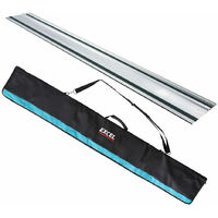 Excel Aluminium Guide Rail & Guide Rail Bag 1.4M/1.5M for Plunge Saw
