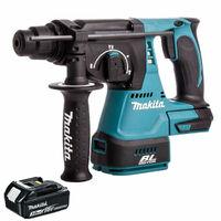 Makita DHR242Z 18V SDS+ Brushless Hammer Drill With 1 x 3.0Ah Battery