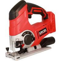 Excel 18V Cordless Jigsaw Body Only EXL581B:18V