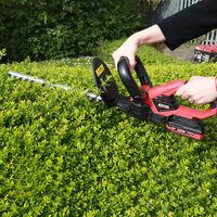 Excel 18V Cordless Hedge Trimmer Cutter 410mm Body Only:18V
