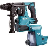 Makita DHR242Z 18V SDS+ Brushless 24mm Rotary Hammer Drill Body with Dust Extraction System