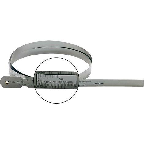 Mètre-ruban de circonférence 2190-3460mm FORMAT 1 PCS