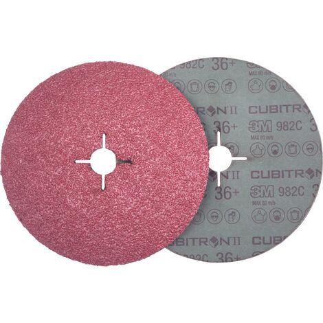 Meule en fibre Cubitron II 982C 115mm P080+ 3M 1 PCS