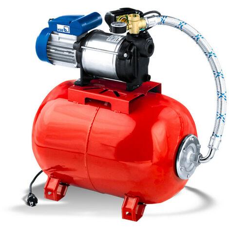 Surpresseur 20L KSB MultiEcoTop34E20 0,66 kW jusqu'à 3,5 m3/h monophasé 220V