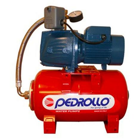 Surpresseur 100L Pedrollo HYDROFRESHJSWm2CX - Pompe a eau 0,75 kW centrifuge jusqu'à 4,2 m3/h monophasé 220V