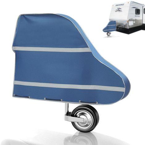 95 * 61 * 15 cm Couvercle d'attelage de Remorque Caravane Etanche & Breathable avec Corde
