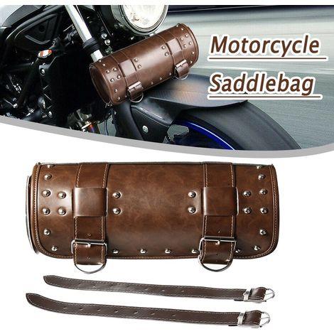 Moto Sacoche Outils Petit Bagages Sacoche de rangement de Moto Rond Avant Universel