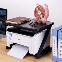 Bureau informatique Meuble Imprimante PC Ordinateur Table Noir