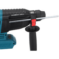 Perforateur burineur Brushless pour batterie Makita 18V avec boite (bleu, sans Batterie)